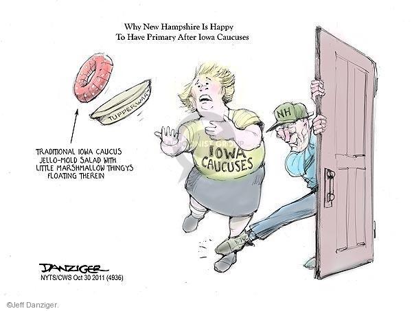 Jeff Danziger  Jeff Danziger's Editorial Cartoons 2011-10-30 caucus