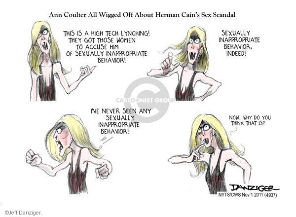 Jeff Danziger  Jeff Danziger's Editorial Cartoons 2011-11-01 Ann Coulter