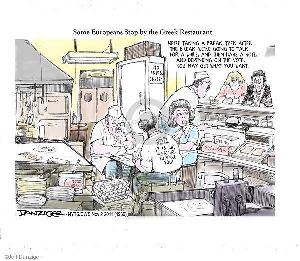 Jeff Danziger  Jeff Danziger's Editorial Cartoons 2011-11-02 May