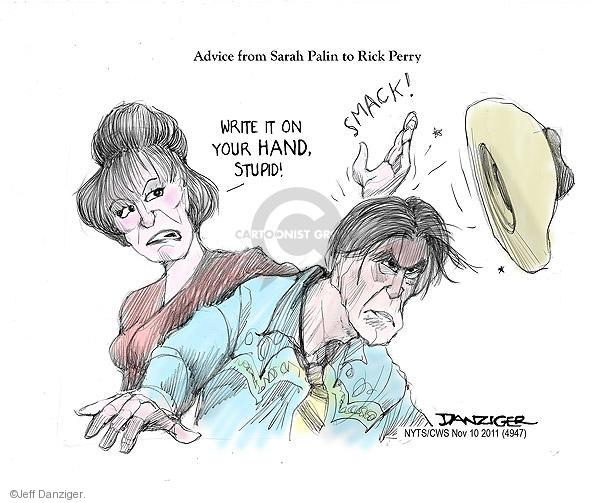 Cartoonist Jeff Danziger  Jeff Danziger's Editorial Cartoons 2011-11-10 candidates republicans