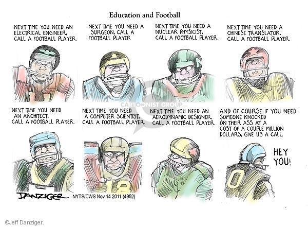Jeff Danziger  Jeff Danziger's Editorial Cartoons 2011-11-14 salary