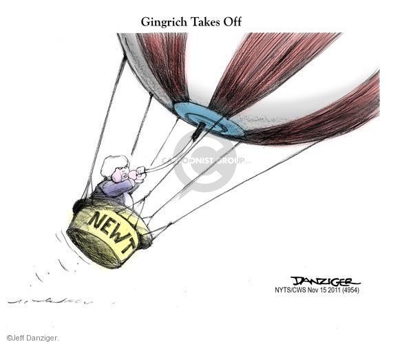 Cartoonist Jeff Danziger  Jeff Danziger's Editorial Cartoons 2011-11-15 candidates republicans