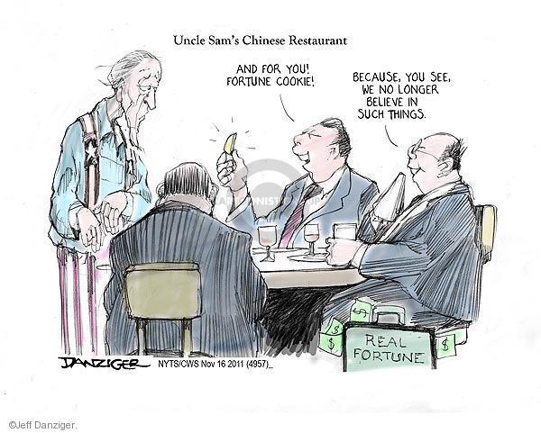 Cartoonist Jeff Danziger  Jeff Danziger's Editorial Cartoons 2011-11-16 communism