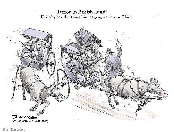 Cartoonist Jeff Danziger  Jeff Danziger's Editorial Cartoons 2011-11-26 group
