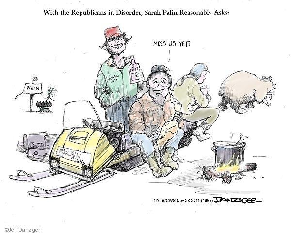 Cartoonist Jeff Danziger  Jeff Danziger's Editorial Cartoons 2011-11-28 2008 election