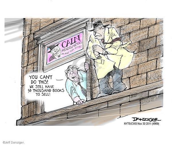 Cartoonist Jeff Danziger  Jeff Danziger's Editorial Cartoons 2011-11-30 do