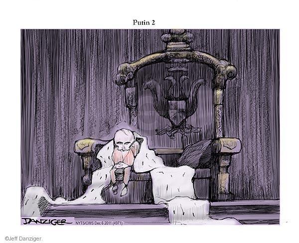 Cartoonist Jeff Danziger  Jeff Danziger's Editorial Cartoons 2011-12-06 candidacy