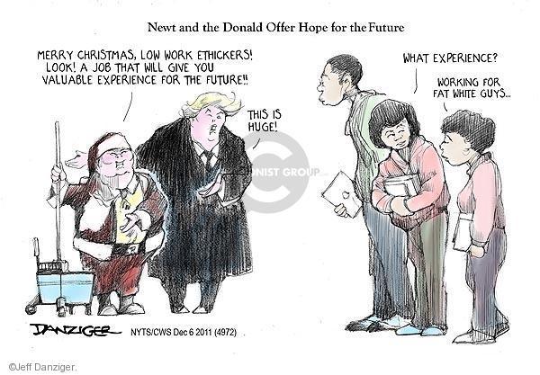 Cartoonist Jeff Danziger  Jeff Danziger's Editorial Cartoons 2011-12-06 speaker