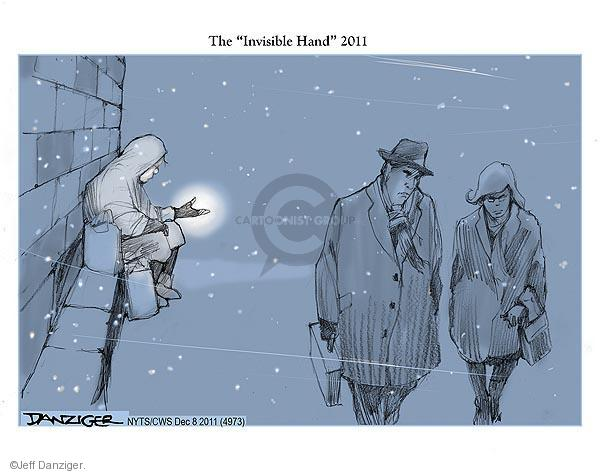 Cartoonist Jeff Danziger  Jeff Danziger's Editorial Cartoons 2011-12-08 recession