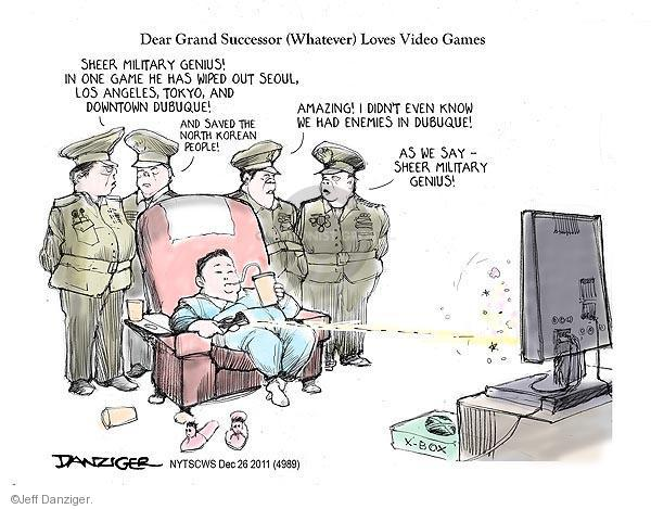 Cartoonist Jeff Danziger  Jeff Danziger's Editorial Cartoons 2011-12-26 Angeles