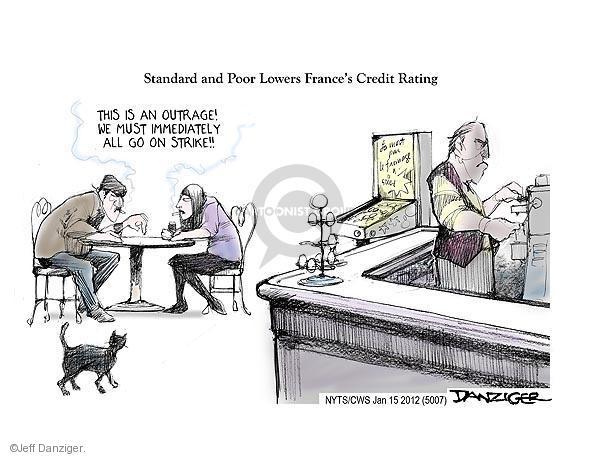 Cartoonist Jeff Danziger  Jeff Danziger's Editorial Cartoons 2012-01-15 lower