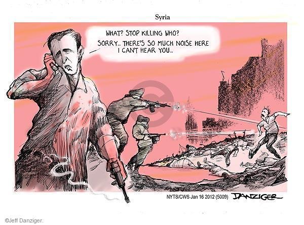 Jeff Danziger  Jeff Danziger's Editorial Cartoons 2012-01-16 civilian