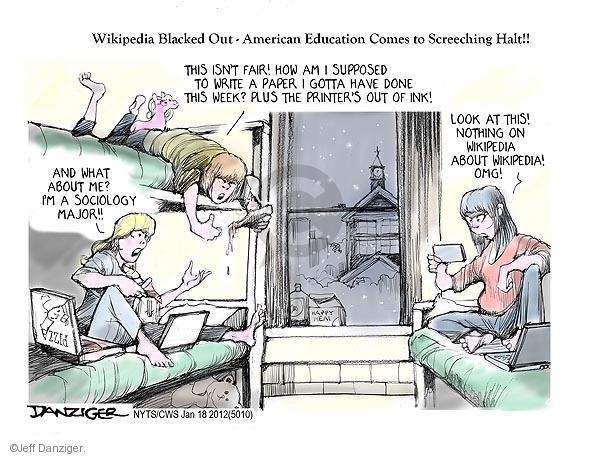Cartoonist Jeff Danziger  Jeff Danziger's Editorial Cartoons 2012-01-18 isn't