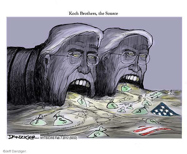 Cartoonist Jeff Danziger  Jeff Danziger's Editorial Cartoons 2012-02-07 American