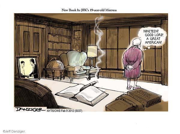 Cartoonist Jeff Danziger  Jeff Danziger's Editorial Cartoons 2012-02-09 American