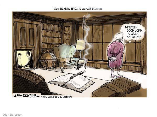 Cartoonist Jeff Danziger  Jeff Danziger's Editorial Cartoons 2012-02-09 White House