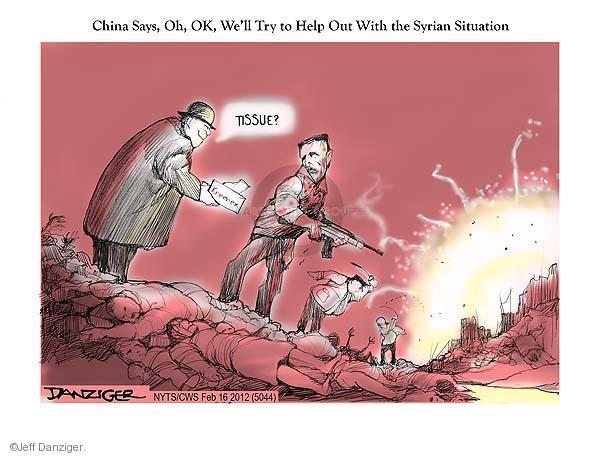 Jeff Danziger  Jeff Danziger's Editorial Cartoons 2012-02-16 civilian