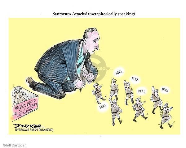 Cartoonist Jeff Danziger  Jeff Danziger's Editorial Cartoons 2012-02-21 candidates republicans