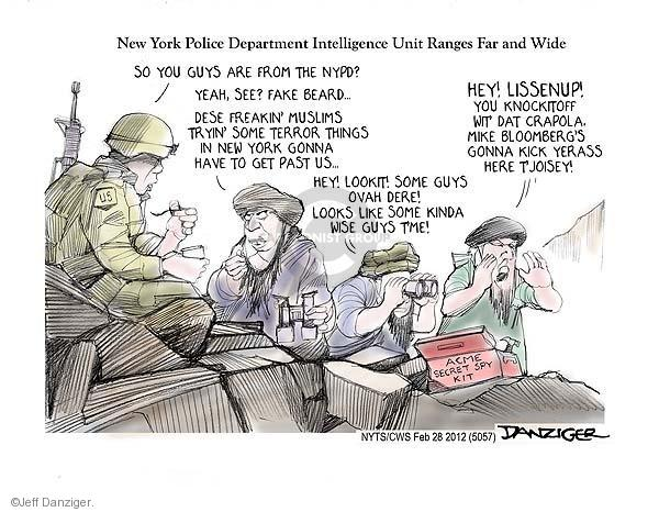 Cartoonist Jeff Danziger  Jeff Danziger's Editorial Cartoons 2012-02-28 Acme