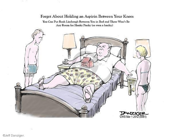 Cartoonist Jeff Danziger  Jeff Danziger's Editorial Cartoons 2012-03-01 Rush Limbaugh
