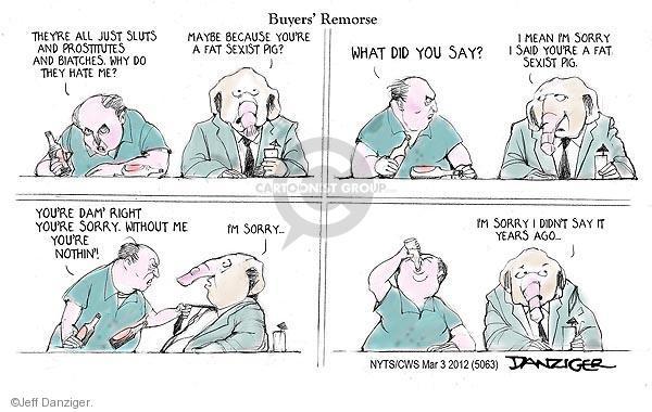 Cartoonist Jeff Danziger  Jeff Danziger's Editorial Cartoons 2012-03-03 do