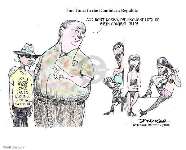 Cartoonist Jeff Danziger  Jeff Danziger's Editorial Cartoons 2012-03-06 woman
