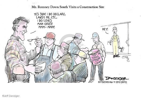 Cartoonist Jeff Danziger  Jeff Danziger's Editorial Cartoons 2012-03-11 do