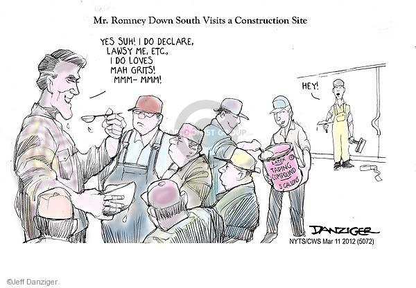 Jeff Danziger  Jeff Danziger's Editorial Cartoons 2012-03-11 United States