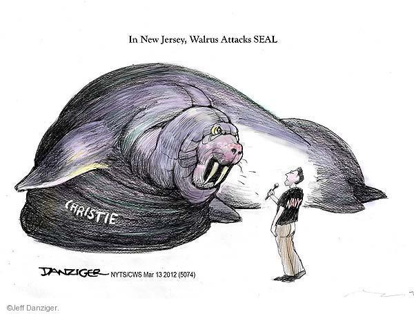 Cartoonist Jeff Danziger  Jeff Danziger's Editorial Cartoons 2012-03-13 event