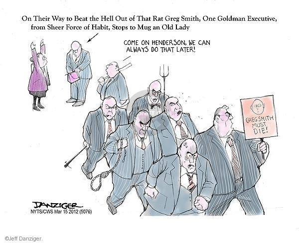 Cartoonist Jeff Danziger  Jeff Danziger's Editorial Cartoons 2012-03-15 opinion