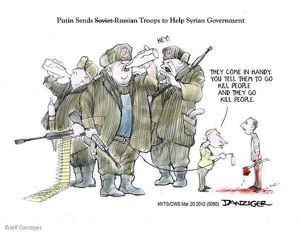 Cartoonist Jeff Danziger  Jeff Danziger's Editorial Cartoons 2012-03-20 people