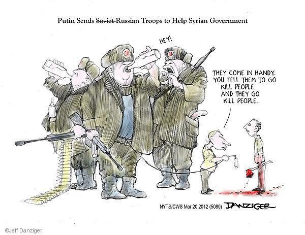 Cartoonist Jeff Danziger  Jeff Danziger's Editorial Cartoons 2012-03-20 Soviet