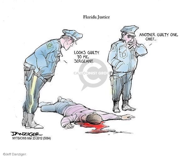 Jeff Danziger  Jeff Danziger's Editorial Cartoons 2012-03-23 guilty