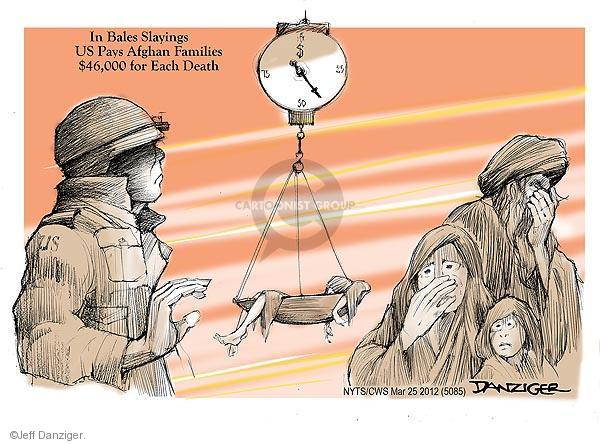 Cartoonist Jeff Danziger  Jeff Danziger's Editorial Cartoons 2012-03-25 United States