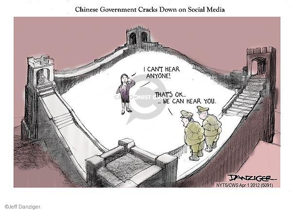 Jeff Danziger  Jeff Danziger's Editorial Cartoons 2012-04-01 chinese