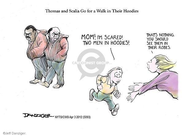 Cartoonist Jeff Danziger  Jeff Danziger's Editorial Cartoons 2012-04-03 legal system