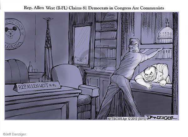 Cartoonist Jeff Danziger  Jeff Danziger's Editorial Cartoons 2012-04-12 communism