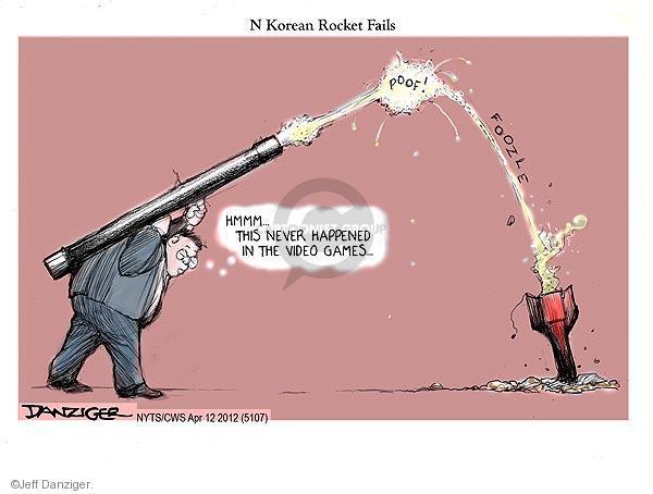 Jeff Danziger  Jeff Danziger's Editorial Cartoons 2012-04-12 rocket