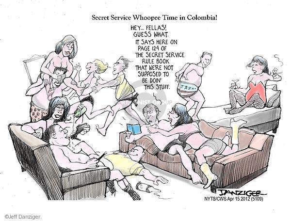 Cartoonist Jeff Danziger  Jeff Danziger's Editorial Cartoons 2012-04-15 guess