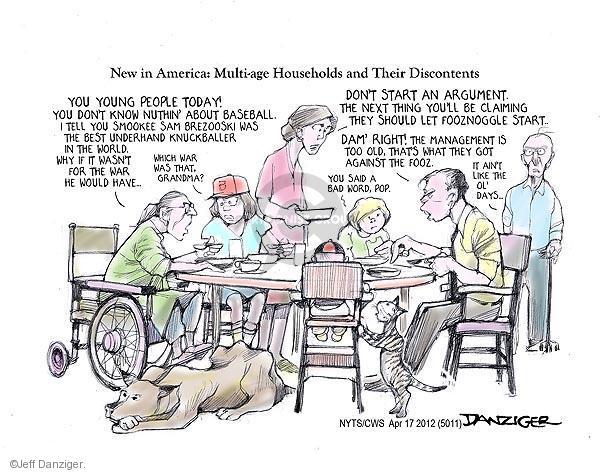 Cartoonist Jeff Danziger  Jeff Danziger's Editorial Cartoons 2012-04-17 generation