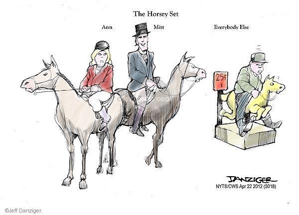 Cartoonist Jeff Danziger  Jeff Danziger's Editorial Cartoons 2012-04-22 candidates republicans