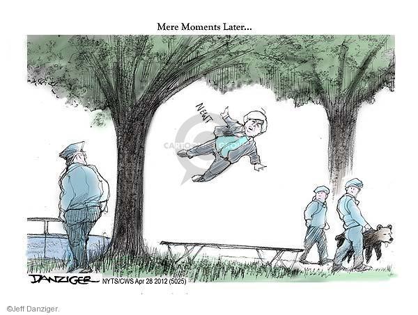 Cartoonist Jeff Danziger  Jeff Danziger's Editorial Cartoons 2012-04-28 Newt Gingrich