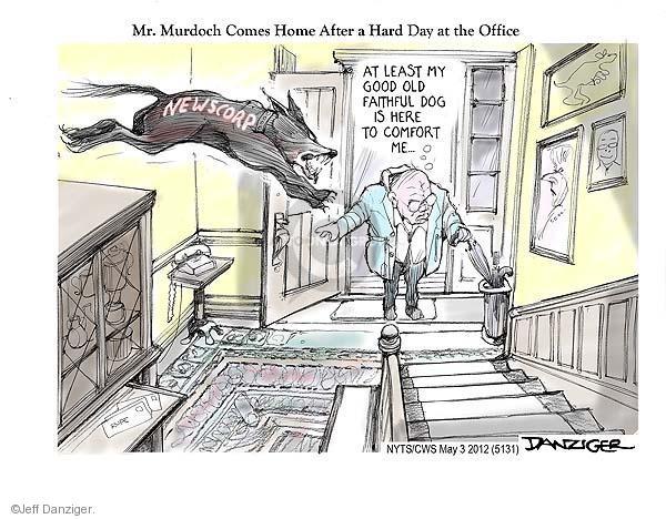 Jeff Danziger  Jeff Danziger's Editorial Cartoons 2012-05-03 good news