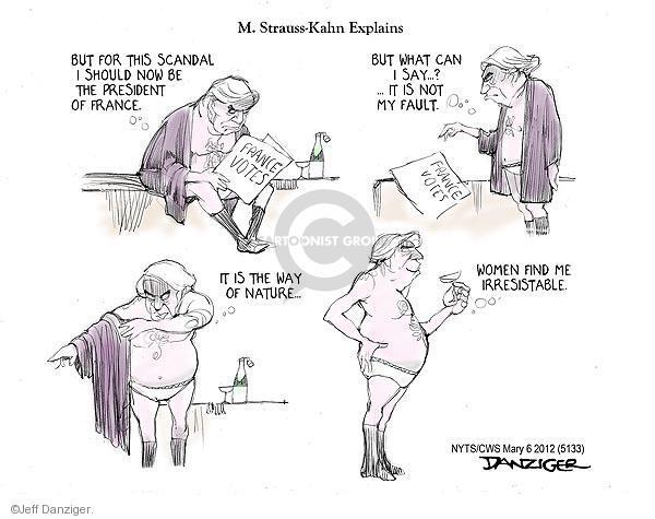 Cartoonist Jeff Danziger  Jeff Danziger's Editorial Cartoons 2012-05-06 International Monetary Fund