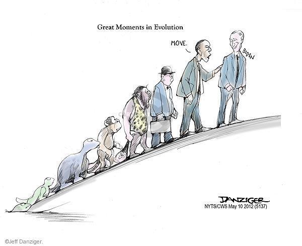 Cartoonist Jeff Danziger  Jeff Danziger's Editorial Cartoons 2012-05-10 same-sex marriage