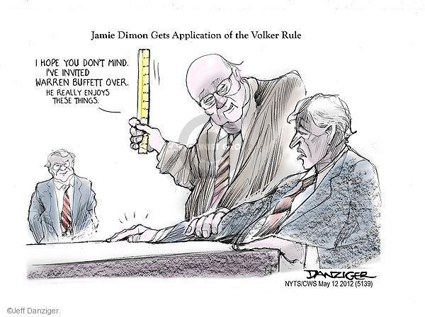 Cartoonist Jeff Danziger  Jeff Danziger's Editorial Cartoons 2012-05-12 don't mind
