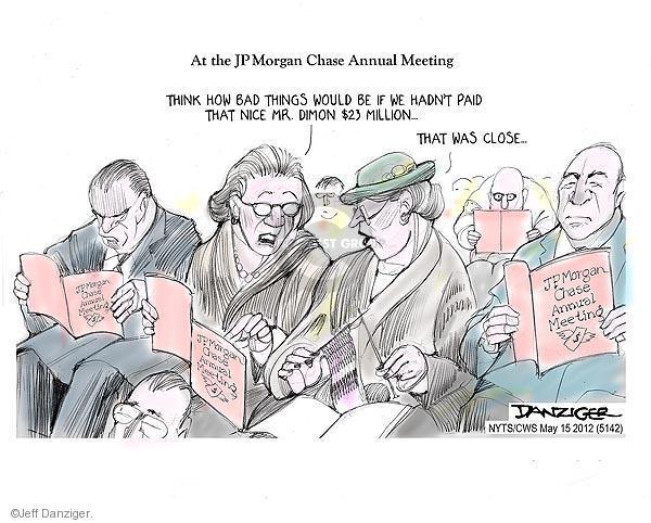 Jeff Danziger  Jeff Danziger's Editorial Cartoons 2012-05-15 $23