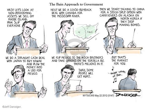 Cartoonist Jeff Danziger  Jeff Danziger's Editorial Cartoons 2012-05-22 do
