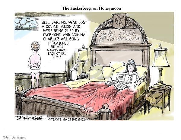 Cartoonist Jeff Danziger  Jeff Danziger's Editorial Cartoons 2012-05-24 darling