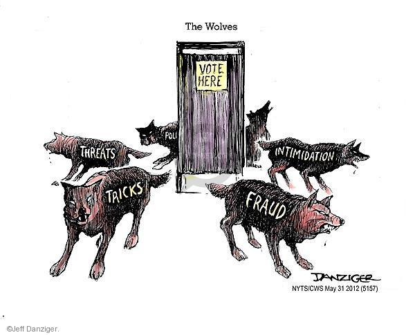 Jeff Danziger  Jeff Danziger's Editorial Cartoons 2012-05-31 voting rights